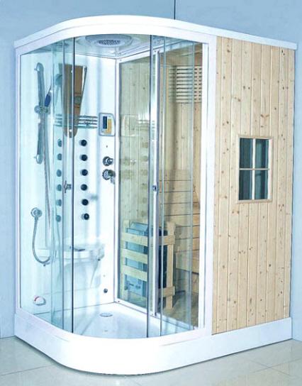 Docce con idromassaggio docce con sauna cabine docce for Doccia sauna
