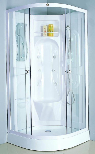 Docce con idromassaggio docce con sauna cabine docce for Box vasca ikea
